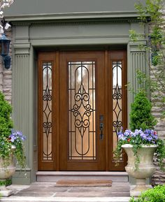 Stunning Entryway With Glcraft S Premium Fibergl Door 2 Sidelights In Nto Gbg Design Front