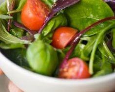Salade épinards frais