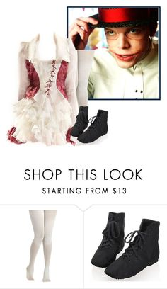 Designer Clothes, Shoes & Bags for Women Jerome Valeska, Alternative Outfits, Gotham, Harley Quinn, Twins, Costumes, Polyvore, Movies, How To Wear