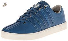 K-Swiss Women's The Classic Lite SL P Sneaker,Moroccan Blue/Whitecap Grey,7.5 M US - K swiss sneakers for women (*Amazon Partner-Link)