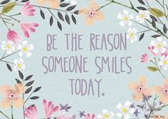 """""""Be the Reason Quote""""   Postcard   Blue Mountain eCards"""
