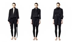 Czech designer Hana Zárubová Hana, All Black, Designers, Normcore, How To Wear, Fashion Design, Shopping, Style, Swag