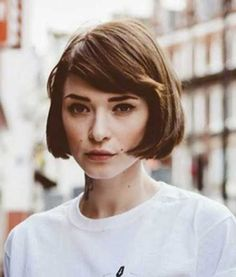 20 Best Chin Length Bob with Bangs