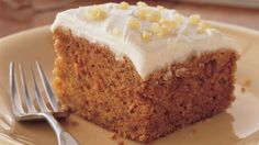 Love carrot cake?  Try this homemade gingery one!
