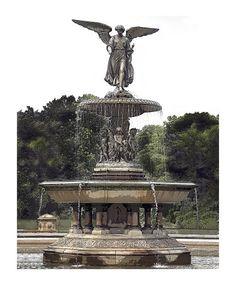 fountain+at+central+park+ny+|+Bethesda+Fountain,+Central+Park,+New+York