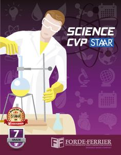Texas Science CVP STAAR Workbook: Grade 7