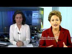Vídeo em que William Bonner 'ilustra' discurso de Dilma de 1ºde maio faz...