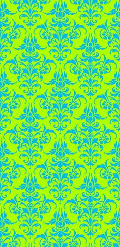 www.spoonflower.com - I love turquoise and lime green, so bright.