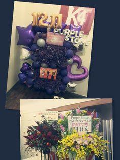 2nd ONEMAN「新宿で紫」新宿RUIDO K4  お花