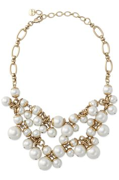 Stella & Dot Daphne Pearl Necklace