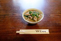 京都で食べたうどん