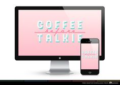 Free Desktop Downloads from AD Aesthetic • Coffee by Ashley