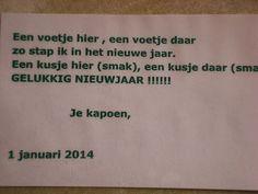 Peuters en 1e kleuter Basisschool Zedelgem DORP: ONZE NIEUWJAARSBRIEF!