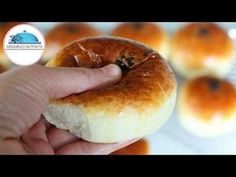 Knead in the Morning Cook - Cotton Soft Donut Recipe Like the Most Soft Sponge # - açma Soft Donut Recipe, Donut Recipes, Cooking Recipes, Dinner Rolls Easy, Ramadan Desserts, Turkish Recipes, Great Recipes, Bakery, Food And Drink