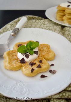 5 Sentidos en la cocina: Tortitas con crema irlandesa de Baileys {St. Patrick's Day}