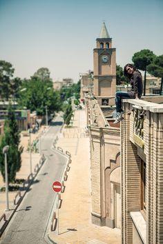 "On the roofs of Esfehan by ""Roozbeh Roozbehani"""
