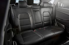 2016 Hyundai Tucson - The rear seatbacks have a greater range of adjustable recline for varying combinations of passengers and cargo, with an increased available recline of 37 degrees compared with 28 degrees for the previous model. Hyundai Cars, Compact Suv, Product Offering, Tucson, Recliner, Car Seats, Vehicles, Range, News
