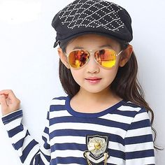 Kids aviator sunglasses. UVA and UVB 400. Polarized. Fashionable and durable! Available in multiple colors! Eyewear Type: Sunglasses Item Type: Eyewear Lens Width: 50mm Frame Material: Alloy Style: Pilot - Aviator Department Name: Children Lenses Material: Acrylic Lens Height: 42mm Gender: Girls Brand Name: Destination Baby Lenses Optical Attribute: Anti-Reflective Model Number: RS001 customized: : Yes Eyewear: : brand new season: spring. summer. autumn. winter Gender: Boys.Girls Anti-UV…