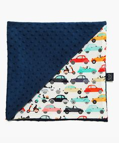 Loving this 32'' x 40'' Navy La Mobille Light Receiving Blanket on #zulily! #zulilyfinds