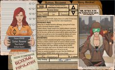 Arkham Files - Roxy Rocket by Roysovitch