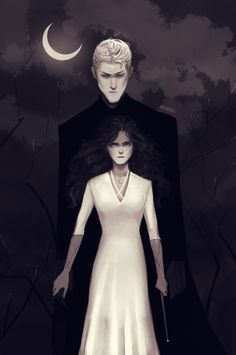 Draco And Hermione Fanfiction, Harry Potter Draco Malfoy, Harry Potter Fan Art, Harry Potter Characters, Hermione Granger, Slytherin, Hogwarts, Dramione Fan Art, Harry Potter Artwork