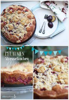 Pflaumenzeit ist Kuchenzeit: heute mit saftigem und vor allem schnellem Pflaumenstreuselkuchen