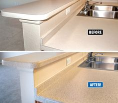 Refinishing Kitchen Countertops Sinks Denver 83 Best Countertop Images In 2019 Refinish This Was Dated And Lacked Interest Just Two Days Miracle Method Added Countertopsrefinish Cabinetskitchen