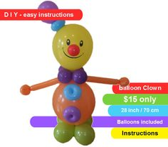1000 Images About Balloons Circus On Pinterest Clowns