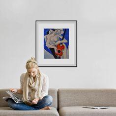 LOVERS, Oil painting by CHIFAN CĂTĂLIN ALEXANDRU | Artfinder