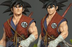 Goku, Bruno Câmara on ArtStation at http://www.artstation.com/artwork/goku-85a0fff8-54c8-4e5b-aba9-851b6cf968f2