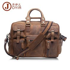 137.85$  Buy here - http://alikca.worldwells.pw/go.php?t=32686922974 - 2017 Designer Handbags High Quality Genuine Leather Travel Bag Men Travel Bags Vintage Luggage Large Duffle Bag Weekend Bag 6025 137.85$