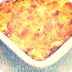 Käsespätzle aus dem Ofen