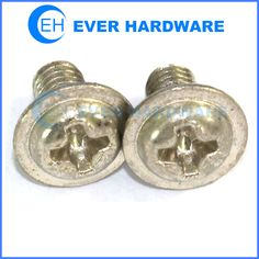 Pan washer head screws metric machine screws nickel plated supplier
