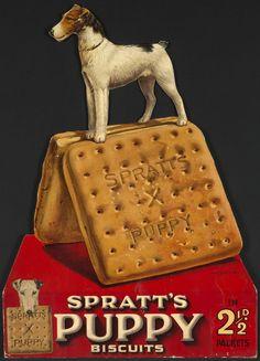 Spratt's Puppy Biscuits.