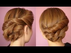 Easy Twisted Rope Braid Hair Tutorial - YES I didn't do it this exact way but pretty similarly and it turned out great!