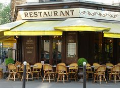 French bistro, coffee anyone?