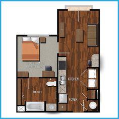 3 Bedroom 3 Bathroom Apartments