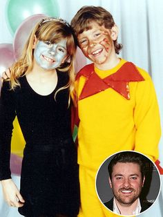 "#Throwback: Country Stars' Cutest Halloween Costumes | HEAVENLY CREATURES | At age 7, ""The Man I Want to Be"" singer Chris Young was the sun to his sister Dot's moon."