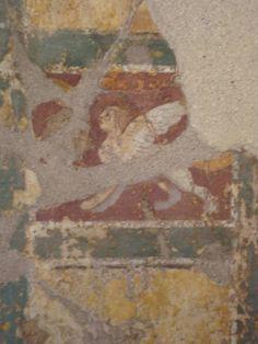 Stanza delle sfingi. Area archeologica di Luni.