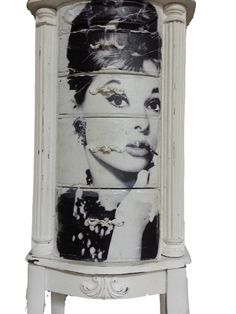 Facebook Friday . Audrey Hepburn. Done by Floor 2 Ceiling Designs. American Paint Company's Navajo White