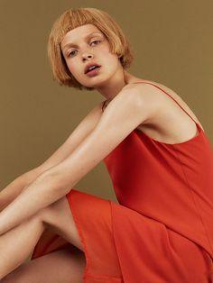 Becca Breymas by Hordur Ingason for i-D Pre-Fall 2015   The Fashionography