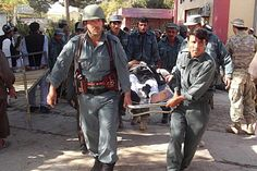 Suicide bomber blows himself up and kills 49 people at least during the volleyball match in Afghanistan