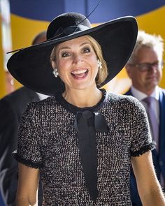 "HM Queen Maxima Of The  on Instagram: ""• My favorite smile of Queen Maxima  . 7/12  . Do you like this smile?❣️ . #queen #QueenMáxima #queenmaxima #smile #royal #royals #royalty"""
