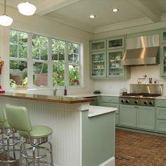 Vintage Modern Kitchen Design