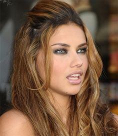 Adriana Lima. I looove her hair color