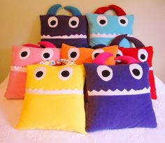 Pajama Monster Pillow Tutorial - Artisan in the Woods