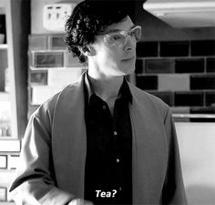 gif. So sweet.  I mean he's always thinking of John first.  The moment he drops an eyeball into a cup of tea his first instinct is to share it with him.  Isn't he just so generous!
