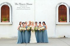 California winery weddings- Bridal party