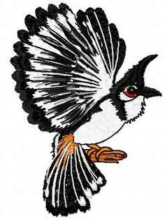 Bird free embroidery design - Animals free machine embroidery design - Machine…