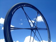 FFWD Fast Forward Ghost full carbon tubular wheels with titanium inserts to let you true and replace the spokes